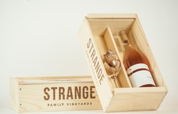 Strange Family Vineyards Wine Box
